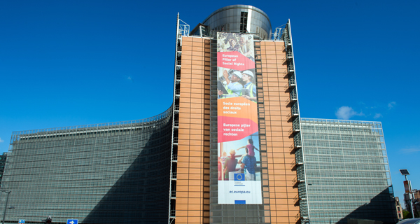 Berlaymont-Gebäude, EU Kommission. © European Union 2017/Source: EC - Audiovisual Service /Photo: Mauro Bottaro
