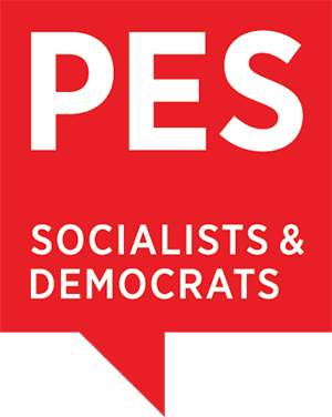 Logo PES - Party of European Socialists (SPE - Sozialdemokratische Partei Europas)